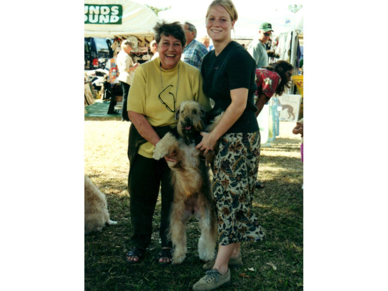Jackie Kase at Ocala Show with Little Eva