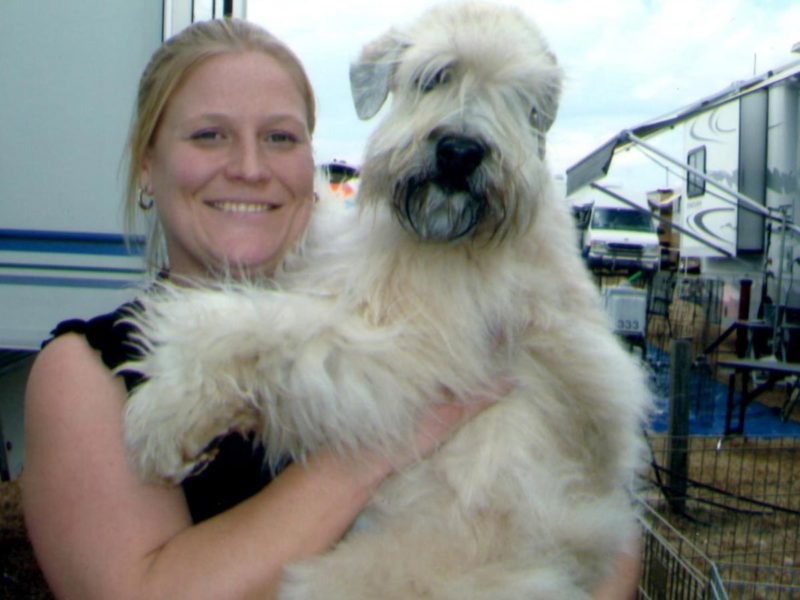 Sherri with Betti - Dogshow in Brooksville - 2009